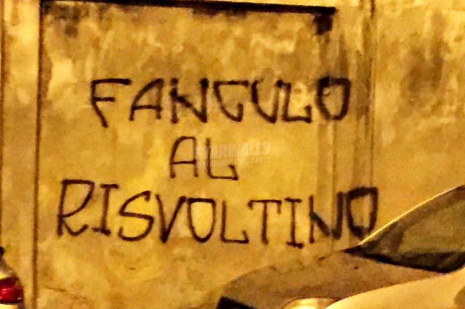 Scritte sui Muri Novara dice basta
