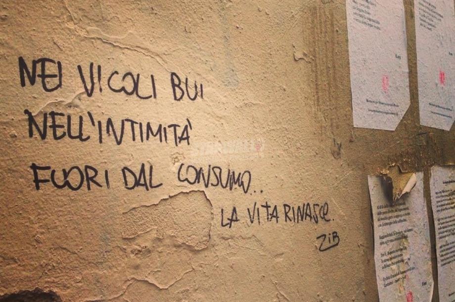 Scritte sui Muri Rinascite