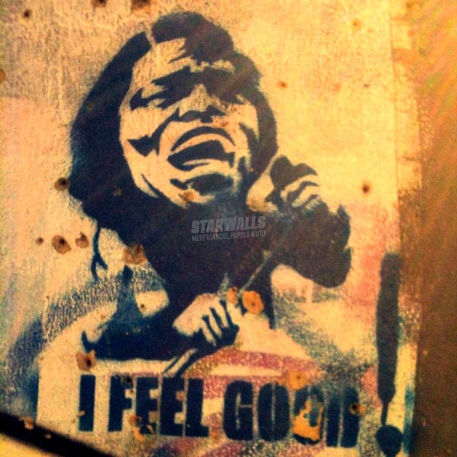 Scritte sui Muri Cit. James Brown
