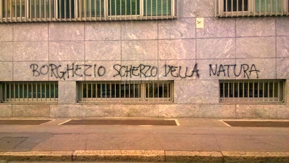 Scritte sui Muri Diversamente uomo
