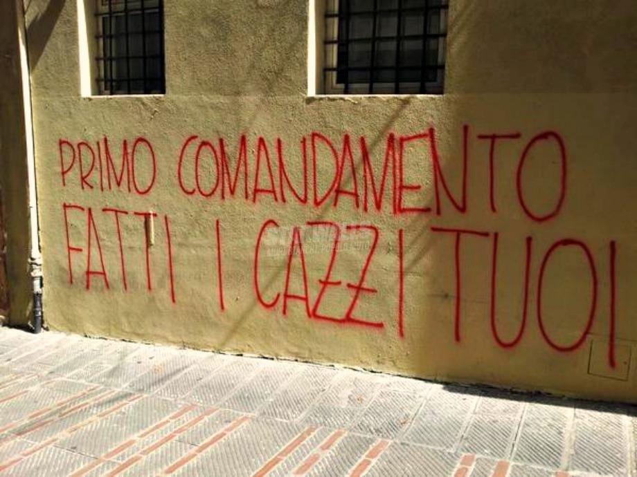 Scritte sui Muri È sempre bene ricordarlo