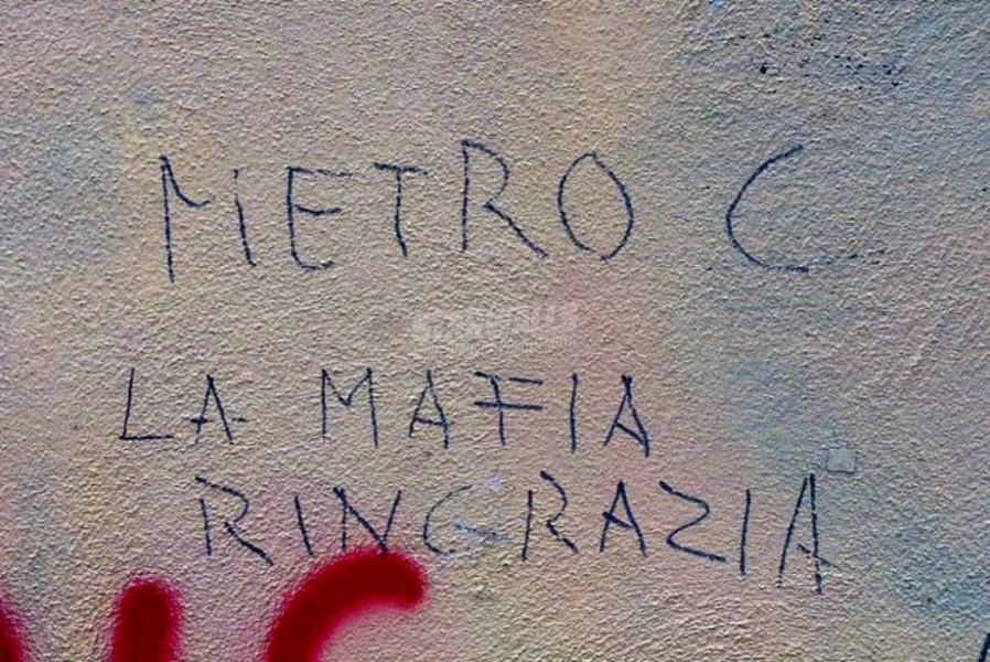 Scritte sui Muri Mafia Capitale