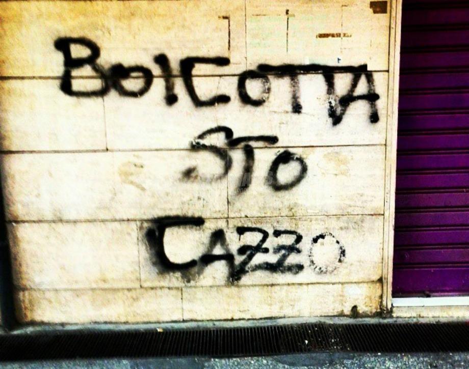 Scritte sui Muri Sabotaggio