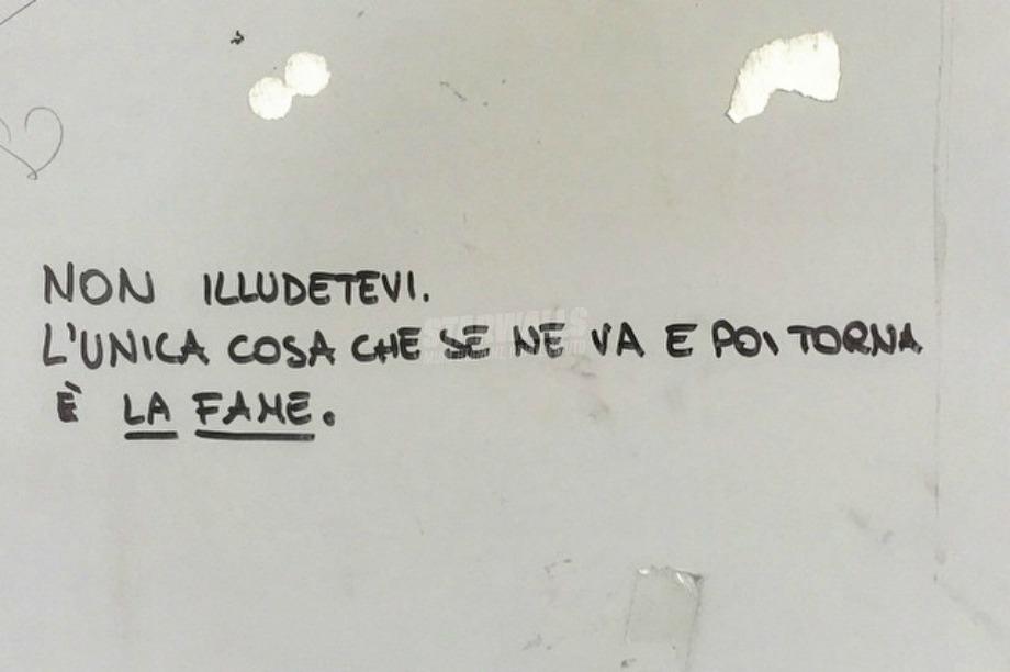 Scritte sui Muri Appetito