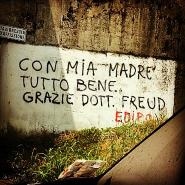 Scritte sui Muri Gioventù complessata