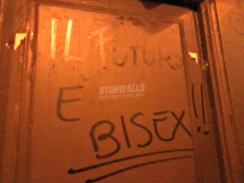 Scritte sui Muri Bisex generation
