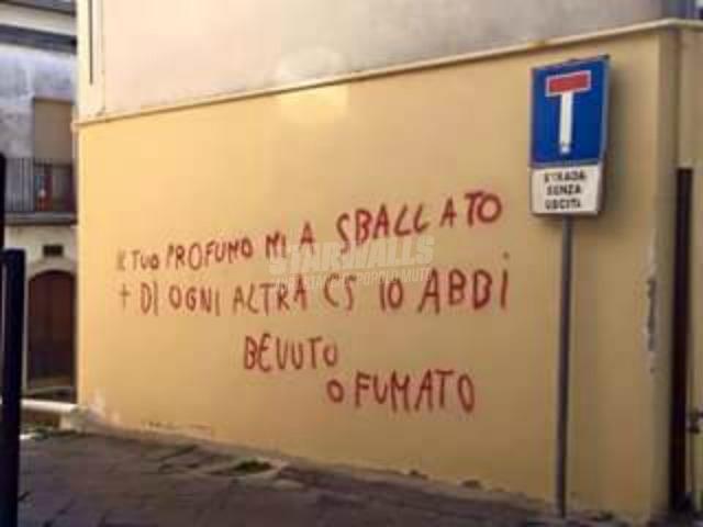 Scritte sui Muri Strada senza uscita