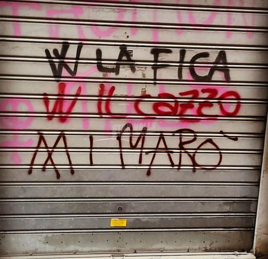 Scritte sui Muri Ridateceli!