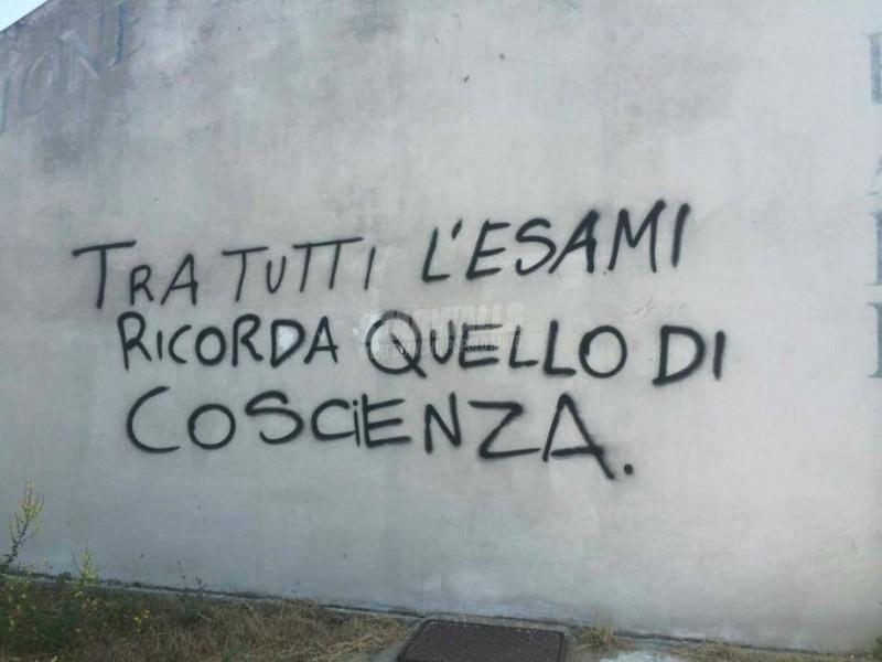 Scritte sui Muri Appunto
