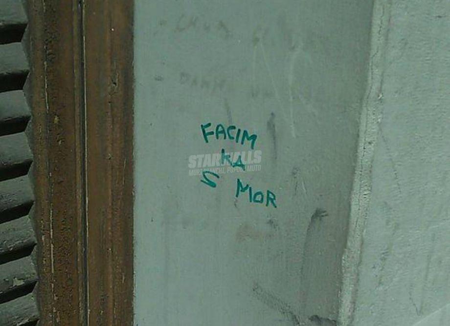 Scritte sui Muri Non perdiamo altro tempo
