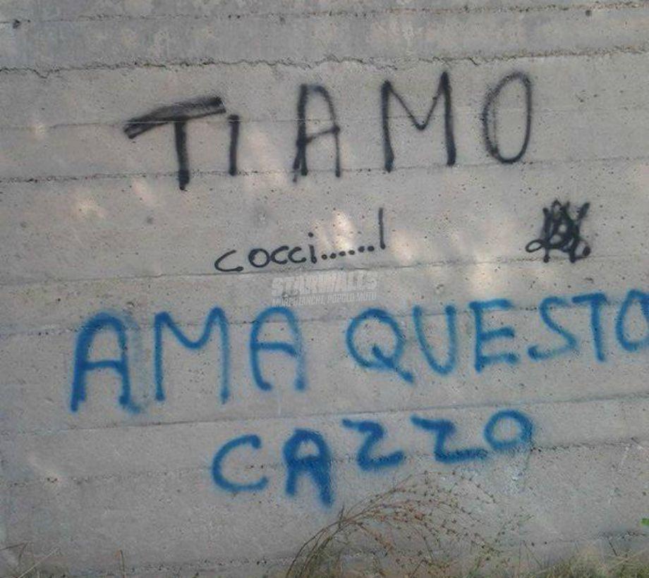 Scritte sui Muri Pene d'amore