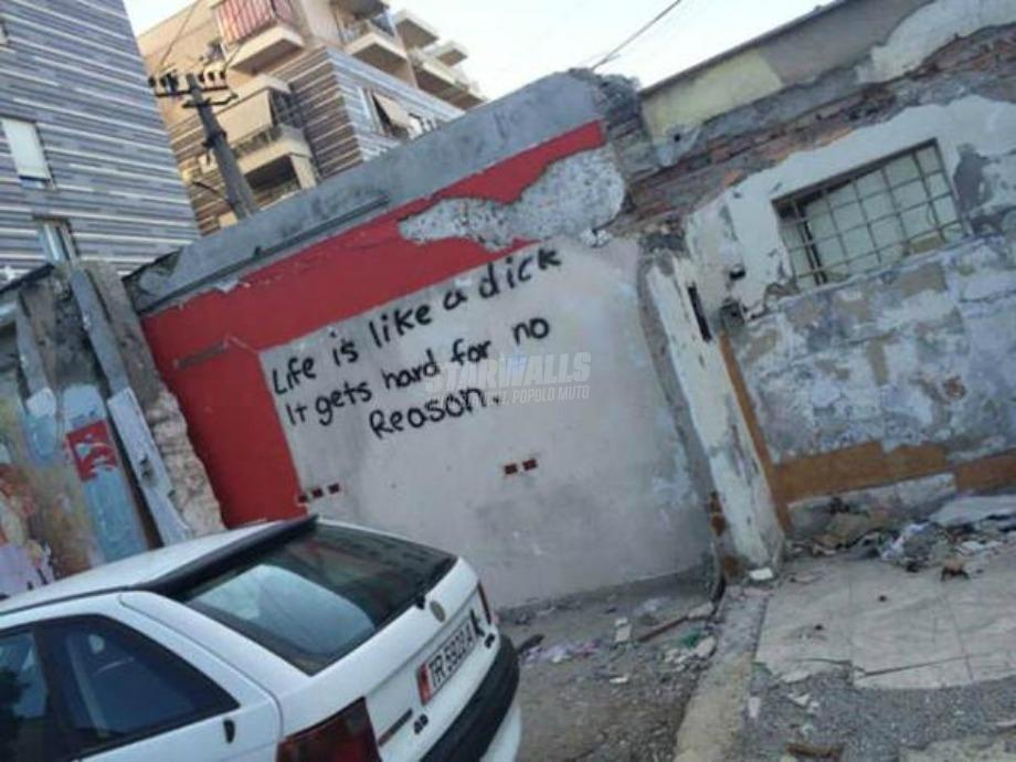 Scritte sui Muri Life is