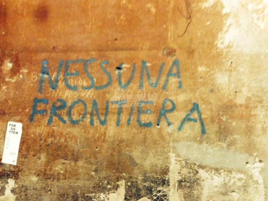 Scritte sui Muri No border