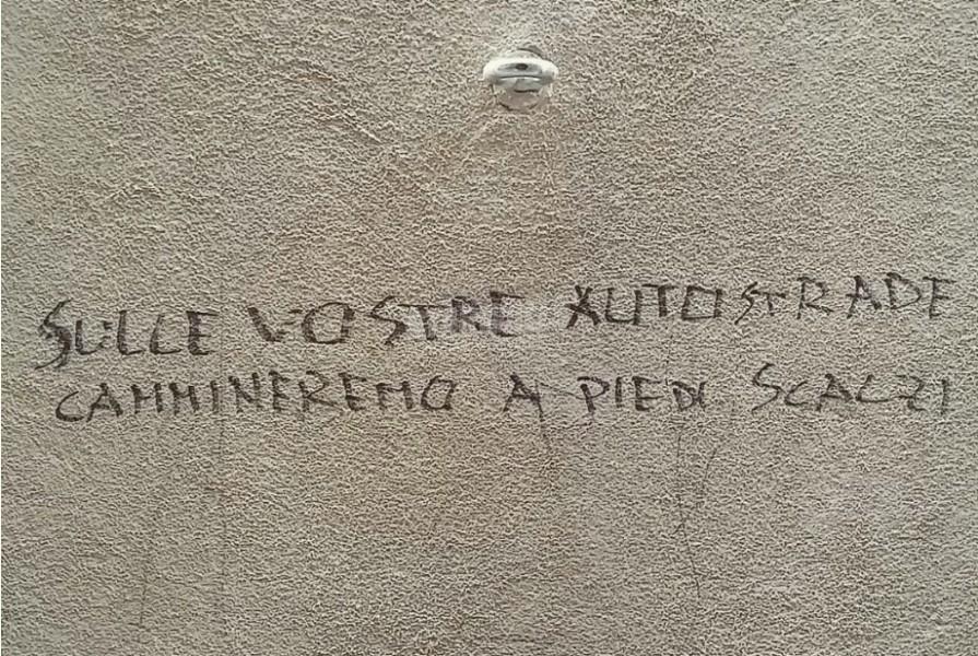 Scritte sui Muri Senza timori