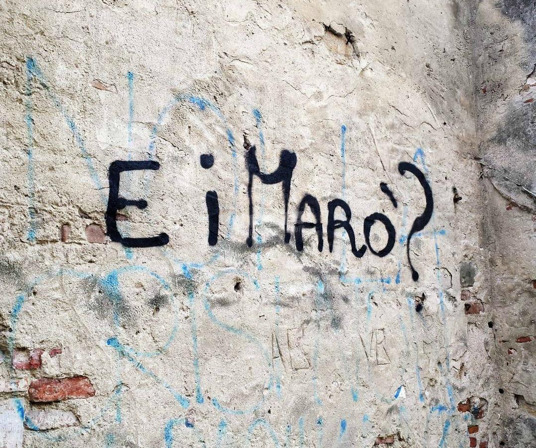 Scritte sui Muri Nessuno ci pensa?