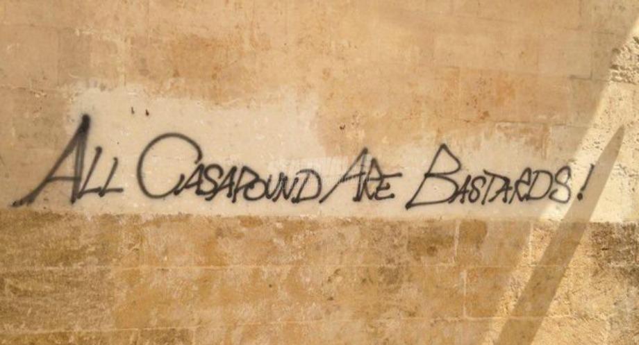 Scritte sui Muri ACAB