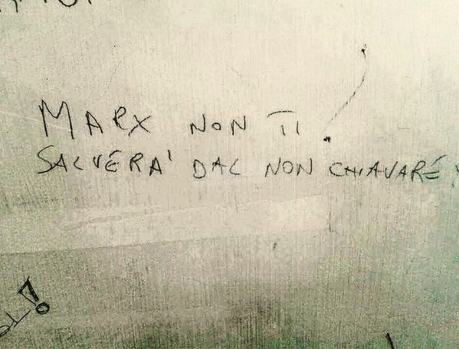 Scritte sui Muri Caro compagno