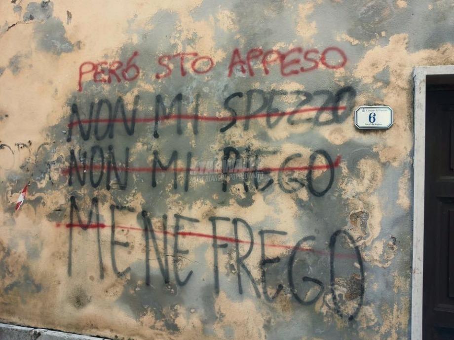 Scritte sui Muri Pendulo