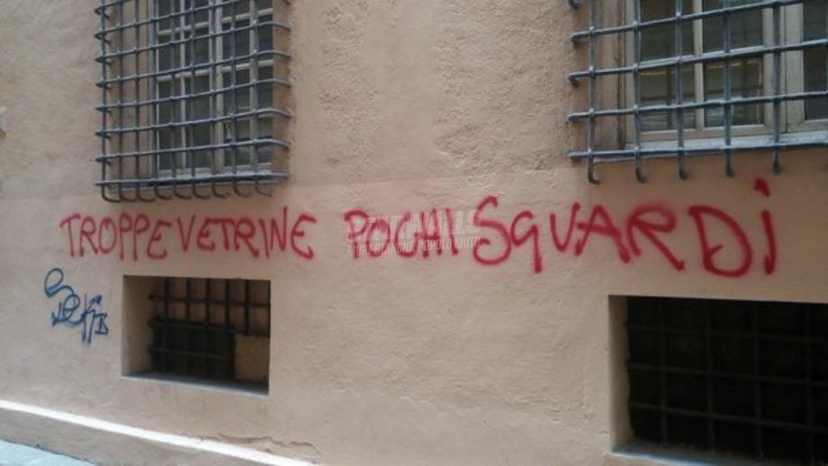 Scritte sui Muri Genova 2016