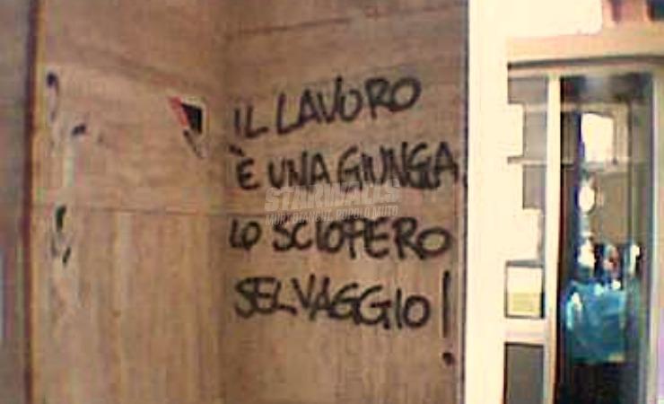 Scritte sui Muri In agitazione