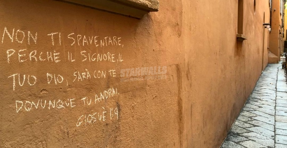 Scritte sui Muri Tratto da un best seller