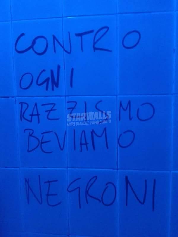 Scritte sui Muri United color of