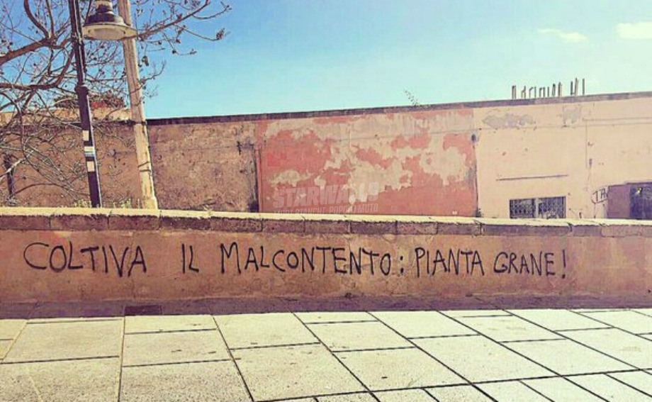Scritte sui Muri Oggi giardinaggio