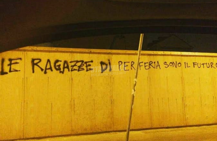 Scritte sui Muri The future is
