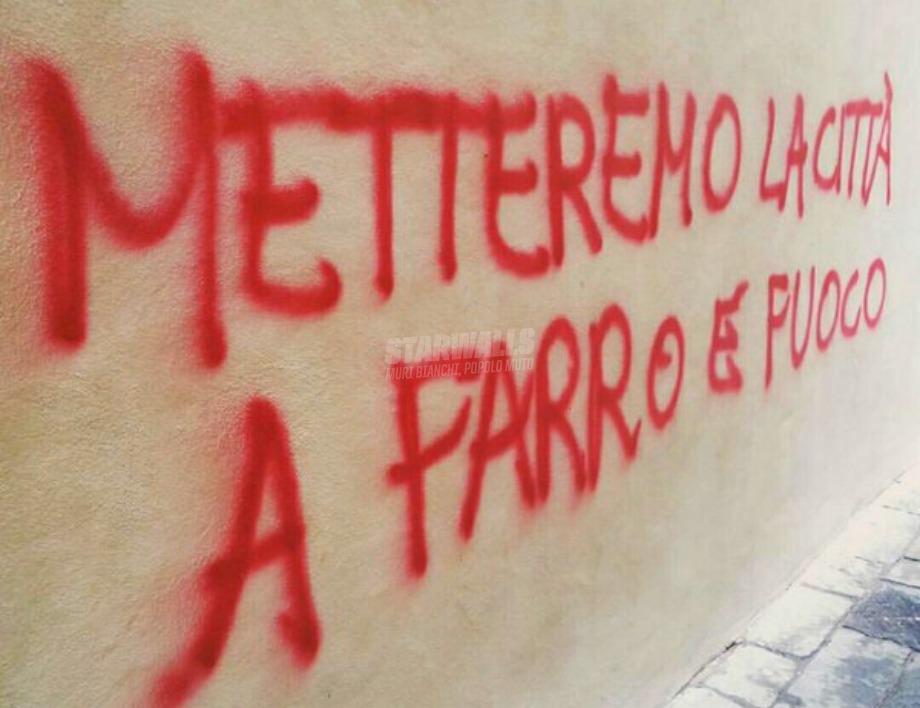 Scritte sui Muri Vegan guerriglia