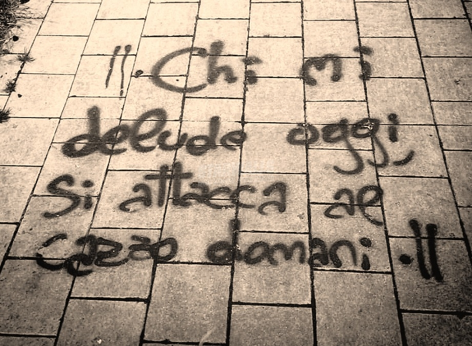 Scritte sui Muri Patti chiari