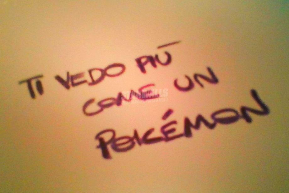 Scritte sui Muri Non e' che non mi piaci