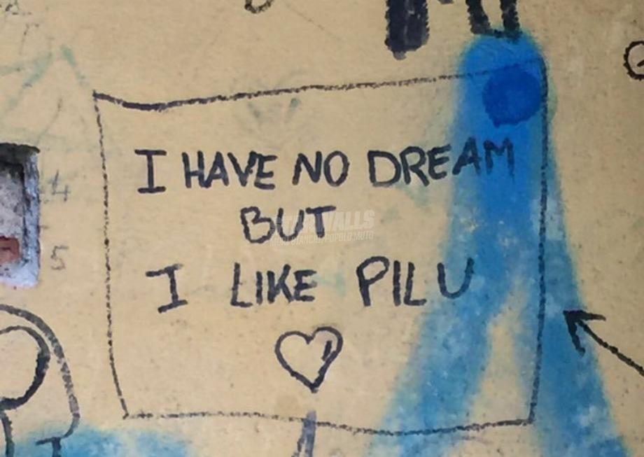 Scritte sui Muri Poeti di passaggio