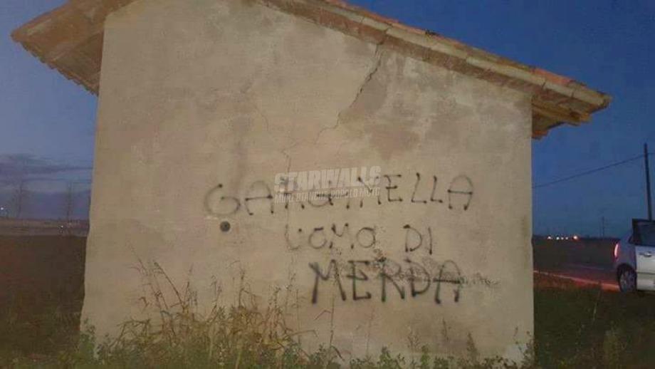 Scritte sui Muri Schtroumpfs riot