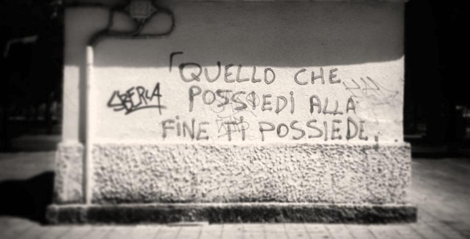 Scritte sui Muri cit. Fight Club