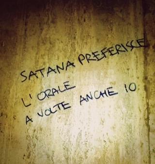 Scritte sui Muri Satanasso