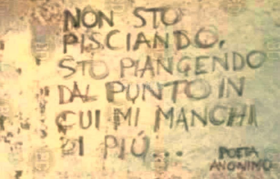 Scritte sui Muri Il poeta sei tu che leggi