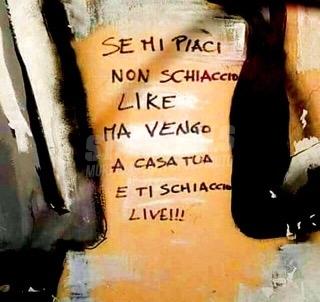 Scritte sui Muri Poesia sui muri
