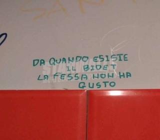 Scritte sui Muri I sapori di una volta