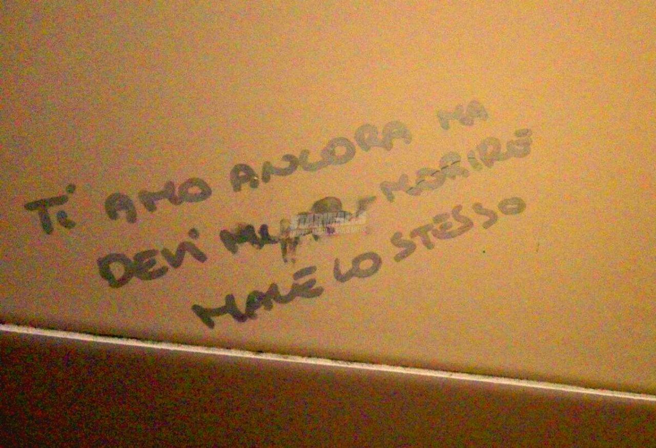 Scritte sui Muri Muori et amo