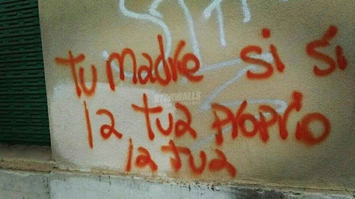 Scritte sui Muri Proprio lei