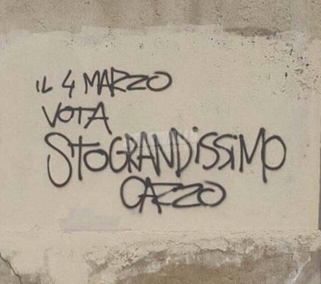 Scritte sui Muri Election Day