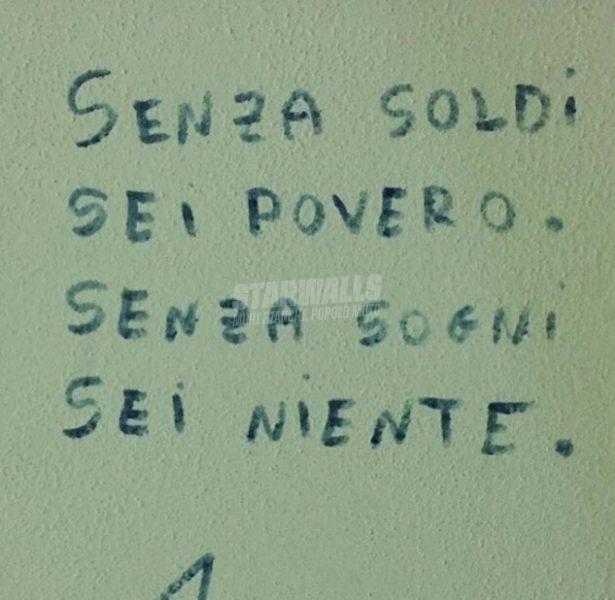 Scritte sui Muri I sogni non si comprano