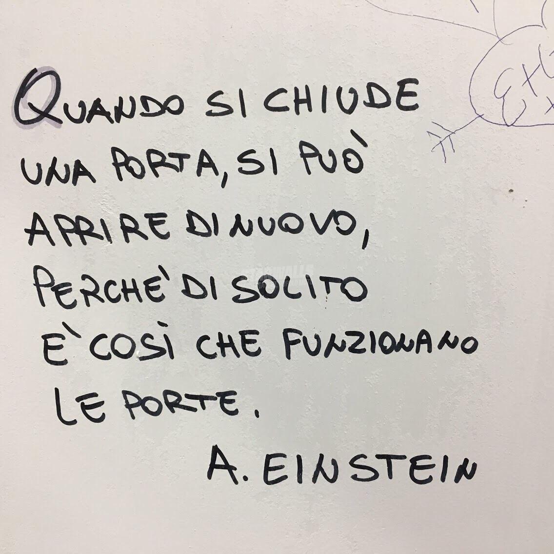 Scritte sui Muri Fisica razionale